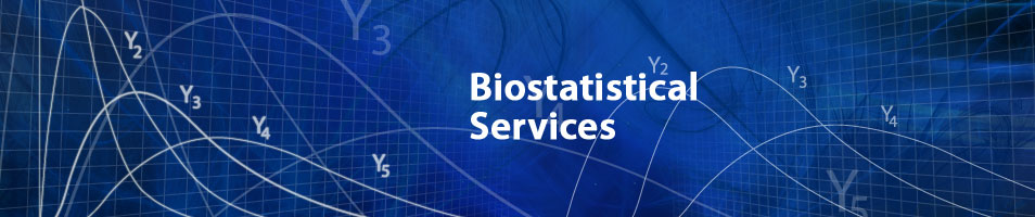 biostatistical services